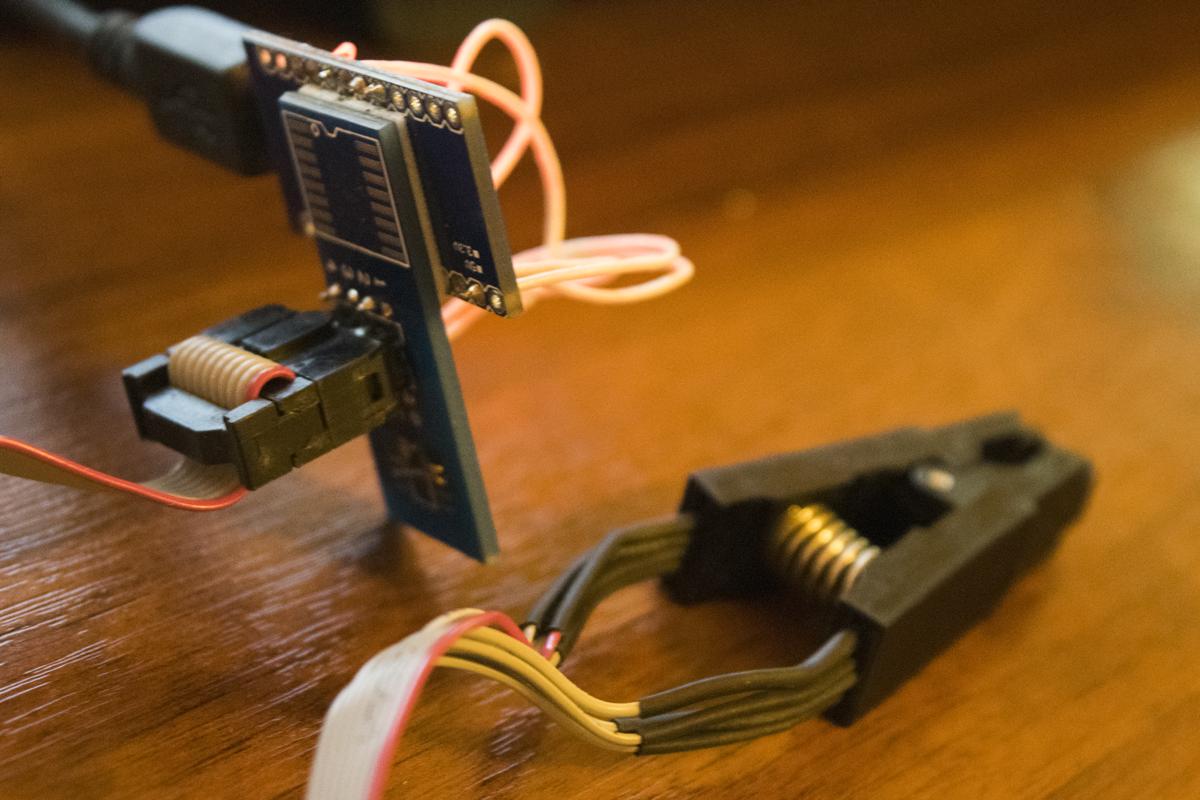 Программатор SPI Flash своими руками | Технохрень